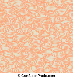 Hand drawn wavy background - Wavy seamless pattern Hand...