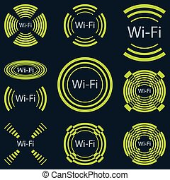 Wireless communication - Illustration of wireless...