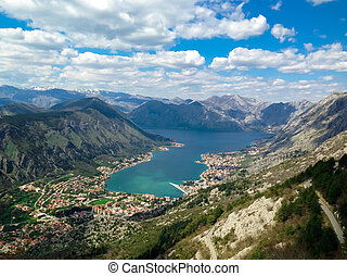 Boka bay - Kotor view