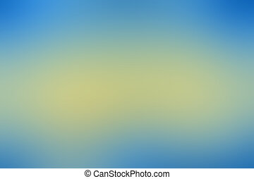 Abstract blurry backgrounds - Blue and yellow Abstract...