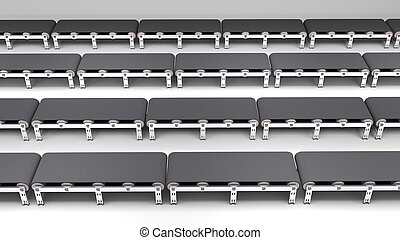empty conveyor belt for use in presentations, manuals,...