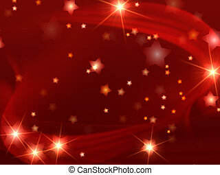 Cristhmas background - red christmas background with stars...