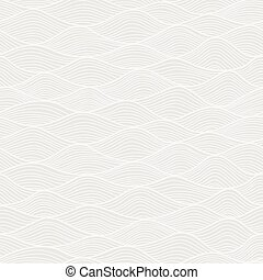 Abstract Wave seamless pattern background. Soft tender colors. Vector illustration.