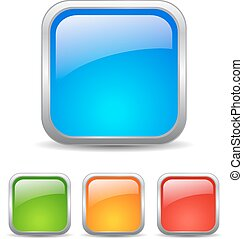 Square web buttons