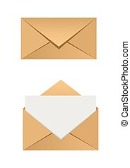 Envelope set