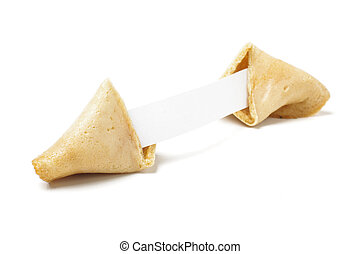 Traditional chinese fortune cookie
