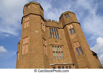 Elizabethan castle, kenilworth, UK - tourist attraction in...