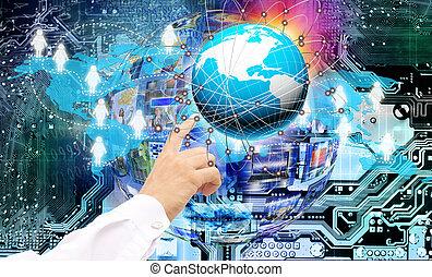 革新的, 教育, インターネット