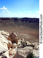 Meteor Crater - The Barringer Meteor Crater near Winslow,...