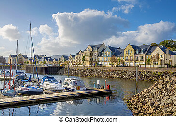 Inverkip Marina - The yacht harbor at Inverkip Marina,...