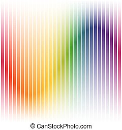 Colorful background stripes on white