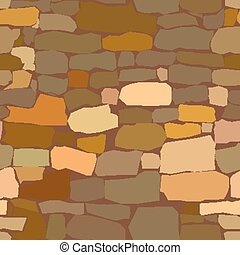 stone masonry - Vector simple seamless texture stone a...