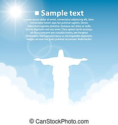 Christ the Redeemer statue. World sightseeing collection.