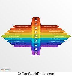 Arrows business growth rainbow