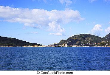 La Spezia coastline