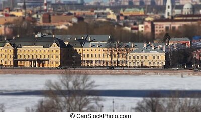 St. Petersburg aerial view - Landmark of St. Petersburg...