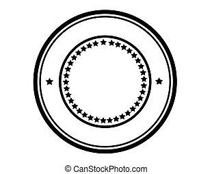 Round stamp