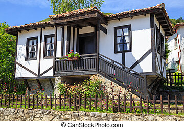 Traditional old Bulgarian house