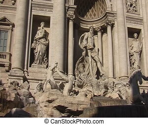 Fountain di Trevi in Rome