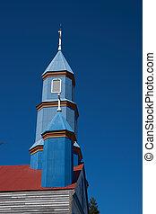Iglesia de Tenaun - Historic wooden church, Iglesia de...