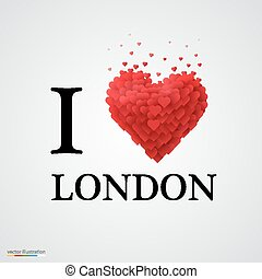 i love London heart sign.