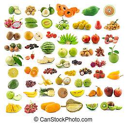 cobrança, de, fruta,