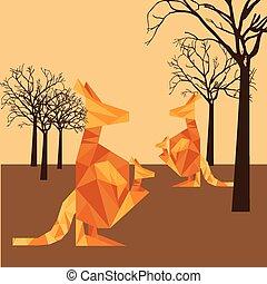 animal abstract