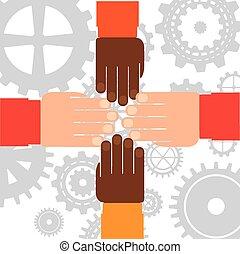 hands human
