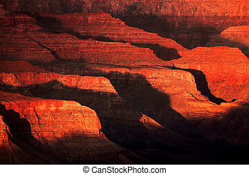 Light and Shadow in the Grand Canyon