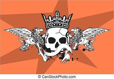 heraldic gryphon coat of arms5 - heraldic gryphon coat of...