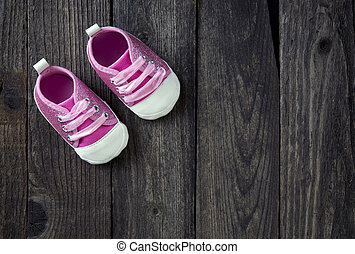 Cute little pink shoes - Cute little pink shoes with room...