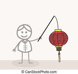 中国語, ランタン,