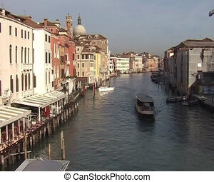 Grand Canal in Venice - Time lapse of Grand Canal in Venice