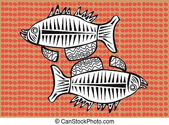 Aboriginal arts - Aboriginal arts, fishes