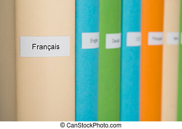 French Language Book - Close-up Photo Of French Language...