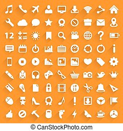 Icon set art technology file
