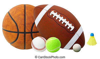 Sports Balls - This is an arrangement of several sports...
