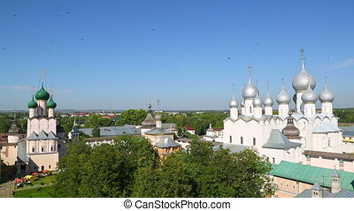 Kremlin in ancient town Rostov the Great, Russia Included in...