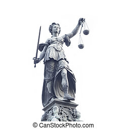 Lady Justice statue - photo of statue of Lady Justice statue...