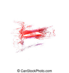 Blot red divorce illustration artist of handwork is isolated...