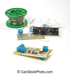 Electronics assembling - Electronics design and prototyping