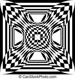 Vortex ripples arabesque four corners