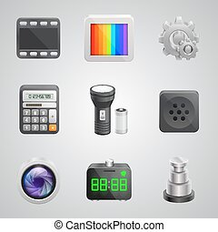 Components of the mobile phone