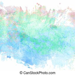 Watercolor nice colors painting for background design....