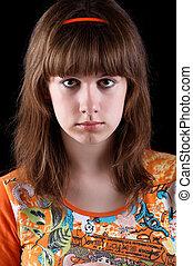 Dark-haired girl