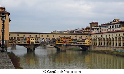 Florence - Panoramic real-time view of Italian town Florence