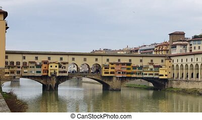 Florence - Panoramic time-lapse of Italian town Florence