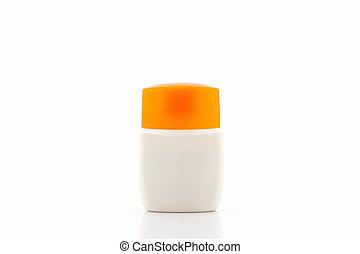 Plastic bottle for beauty product. - Plastic bottle for...