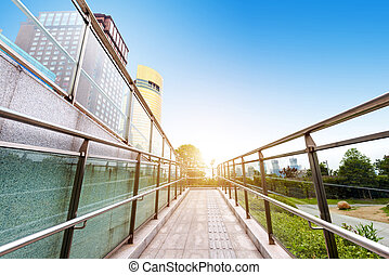 Barrier-free access - Accessible path of China Shanghai...