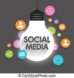 Social Media Symbol Design